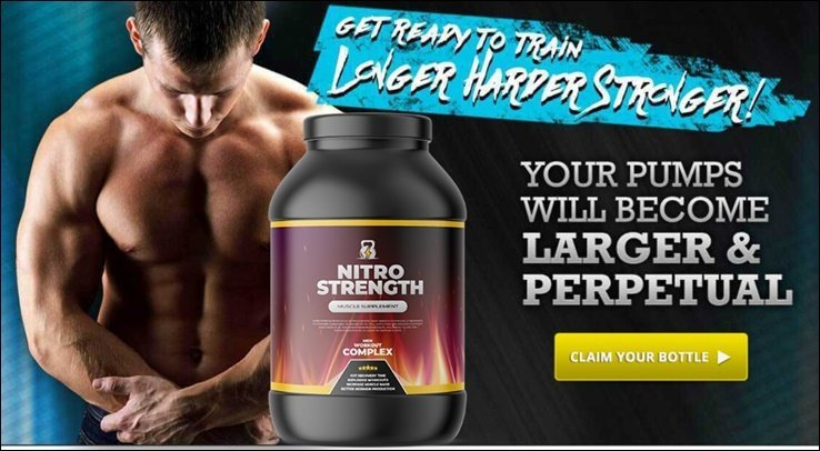 nitro strength - for big large and perpetual muscle building