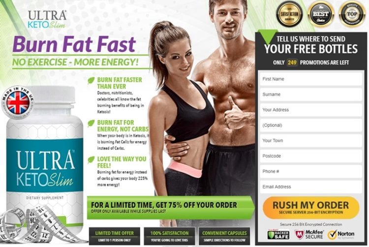ultra keto slim - to burn fat in uk & usa - for men and women - huge discounts exposed