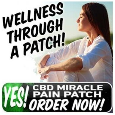 cbd miracle pain patch - ideal for human wellness