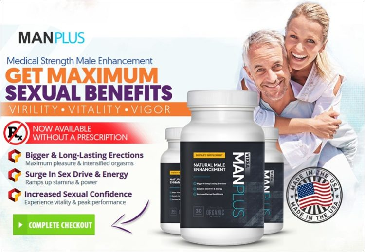 buy vixea manplus supplement - for max sex benefits and confidence