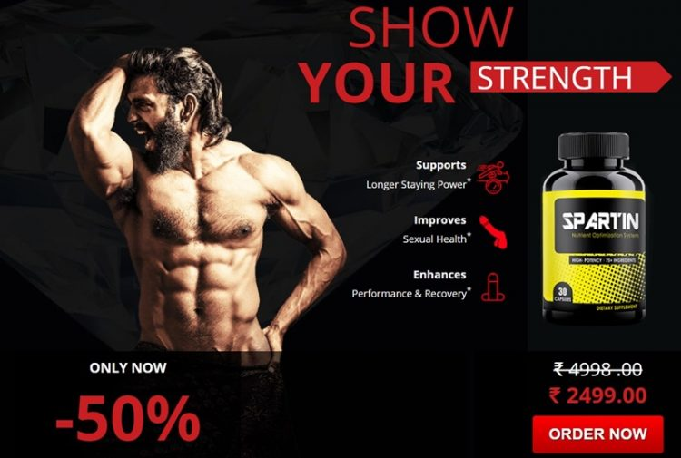 spartin male enhancement - prove your strength and staying power