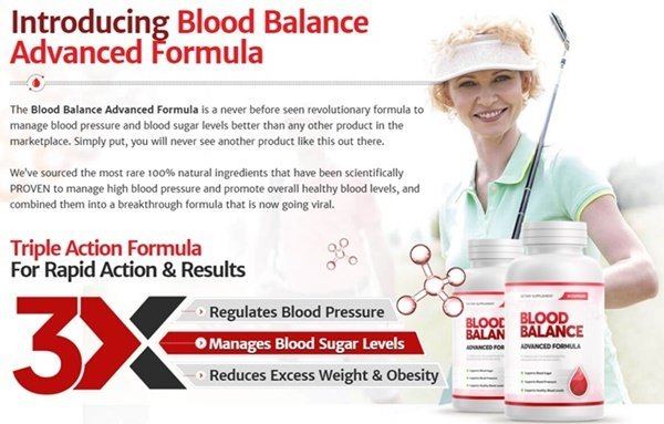 blood balance advanced formula introduction - triple action supplement for rapid action and results